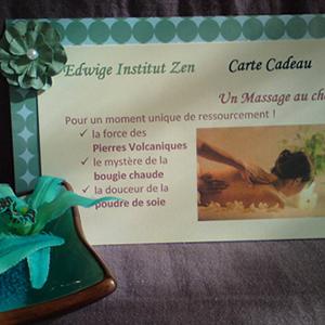 Massages bon cadeau